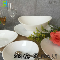 Opal glassware 24 pcs dinner set made by spinning machine
