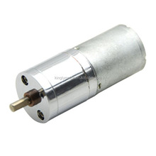 dc geared motor high torque permanent magnet ,diameter 25mm gear engine,micro quality motor geared