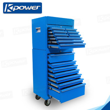 26 Inch Portable Metal Tool Boxes With 9 Drawers