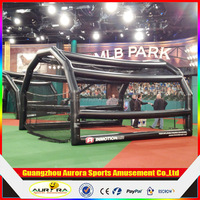 2016 inflatable baseball sport game,funny inflatable baseball batting cages as sports toy