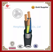 NO.0018- U 1000 R2V NYY 3 core power cable 3x70mm2 600/1000V IEC 60502-1 CU / PVC / PVC electrical 70mm2 cable