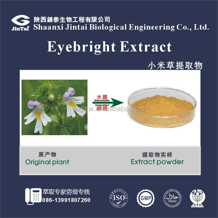 High Quality Organic Eyebright Extract Powder