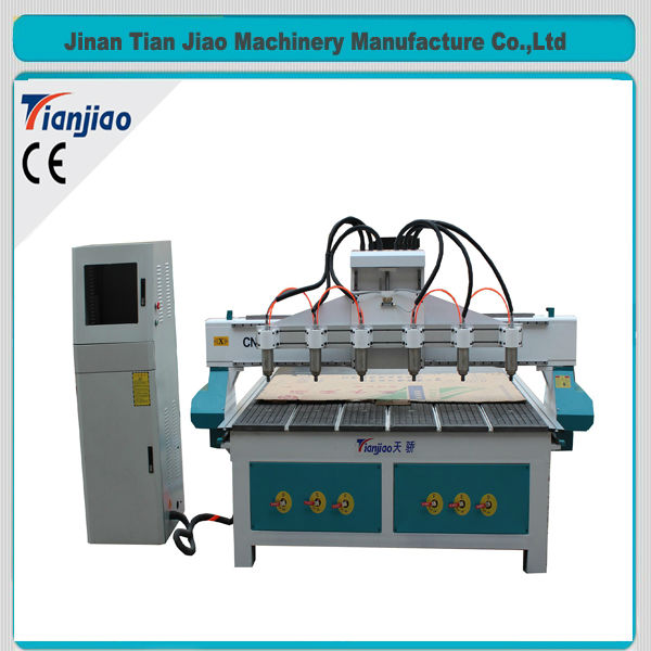 multi heads basalt drilling machine stone core drilling cnc router