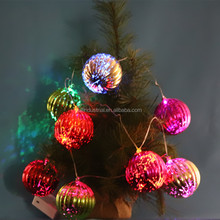 Wholesale Christmas Tree Ornament Plastic Xmas Ball Led String Light,snowflake christmas lights string
