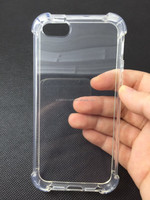 High quality Gel transparent Shockproof Corner tpu case for Iphone7/7 Plus/6/6 plus/5