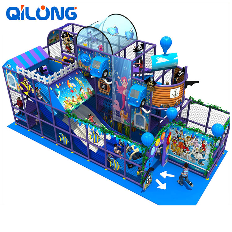 Dreamland used commercial playground equipment for sale playground with tuv certificate rotational molding indoor playground
