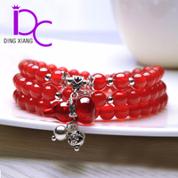 Classic Crystal Bead Bracelet made in China