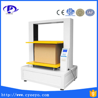 box carton compression testing machine compression strength tester