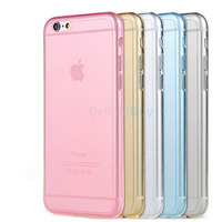 Ultra Thin Clear Crystal Rubber Silicone Soft TPU Cover Case for iPhone 6 Plus 6s plus 5.5""