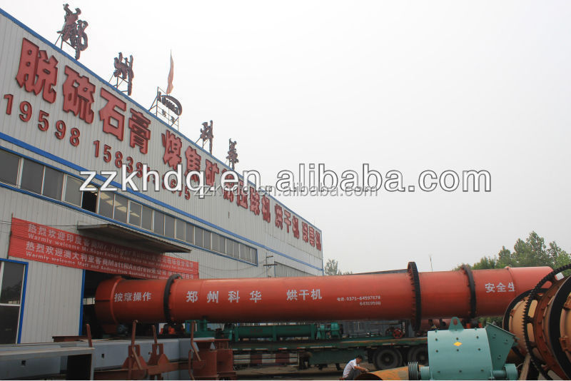 Multifunctional gypsum rotary dryer for industry & agriculture
