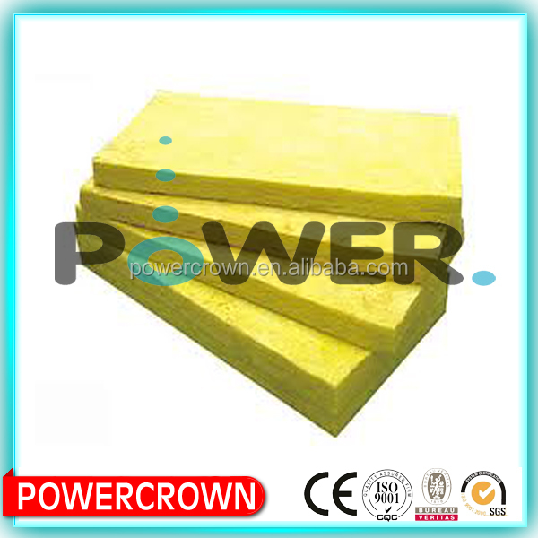 glass wool sound absorption coefficient