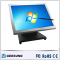 Good quality touch screen 15 inch sliver Aluminum touch screen monitor