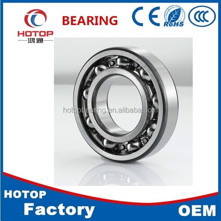 High speed low noise series bearing 6004 for motorcycle wheel