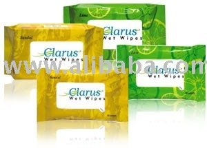 CLARUS WET WIPES