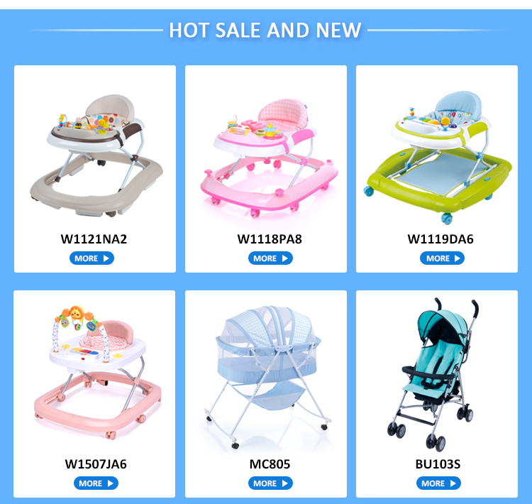 new model with rubber wheel baby walker car