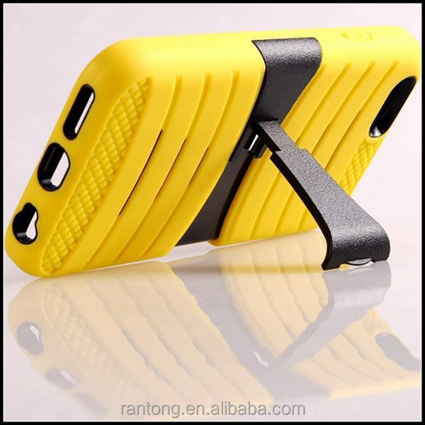 Whosale silicone + PC phone case for iphone 6 covers ,many models
