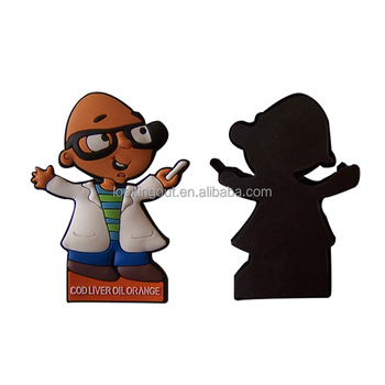 professional supplier lovely old people soft toy fridge magnet