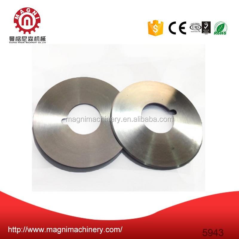Roller cutting knife blade Round Circle Slitter Blade knive