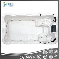 JAZZI Chinese ROHS/SAA approved luxury whirlpool acrylic balboa swim spa massage hot tub for outdoor SKT339C