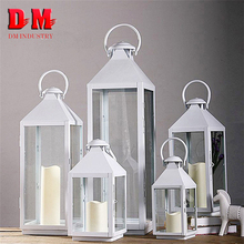 Gifts & Decor Coffee House Wholesale Large Hanging Stainless Steel Metal Candle Lantern