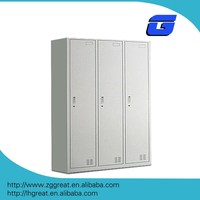 3 door gym locker/Metal Clothes locker/Bathroom closet