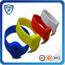 Customized velcro rfid wristband chip Event/club access control