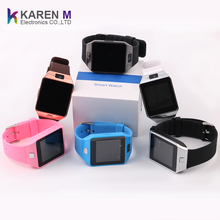 2018 new arrival sim card smart watch mobile phone dz09 factory 5.7$ kids smartwatch