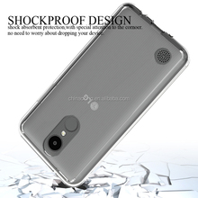Silicone TPU+PC Hard Plastic Hybrid Armor Case for LG K4 2017