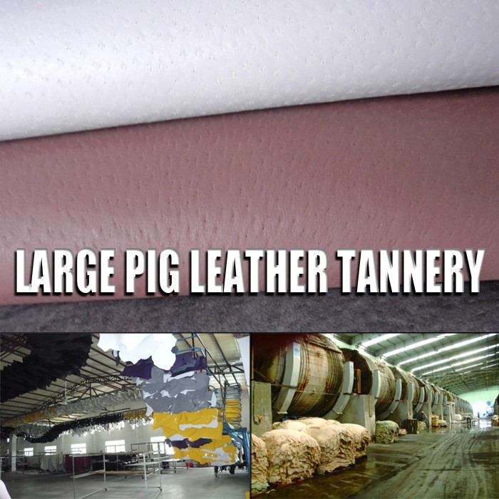 pingyang footwear split leather footwear split lining oil pig leather for shoes insole lining