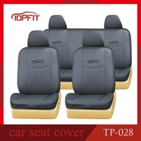 China OEM auto parts leather car seat cover for TOYOTA Yaris seat cover