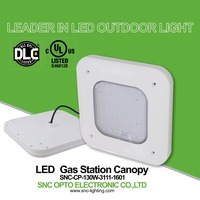 DLC UL gas station led canopy lights,130w led canopy light outdoor