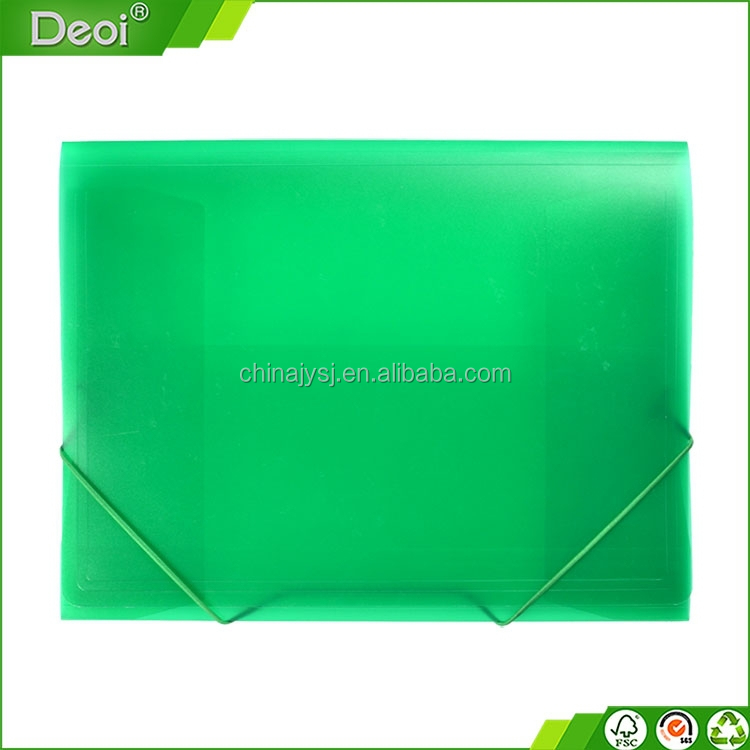 pp plastic document file box case with handle stationery supply