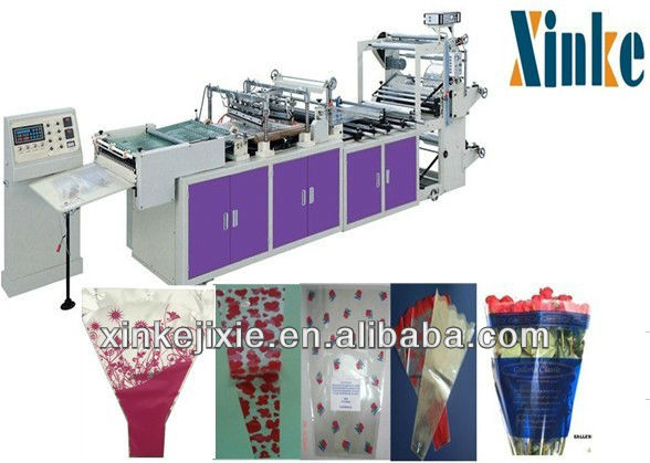 Machine Manufacturers Fully Automatic Plastic Abnormity bags/Flower Bags/Triangle Shaped Bag Making Machine