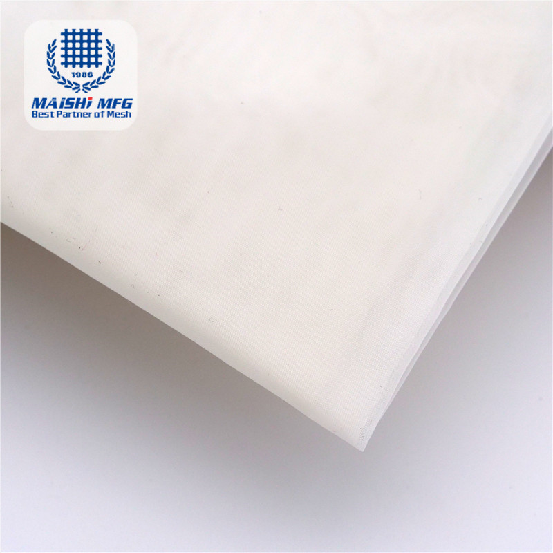 customized food grade white nylon filter bag