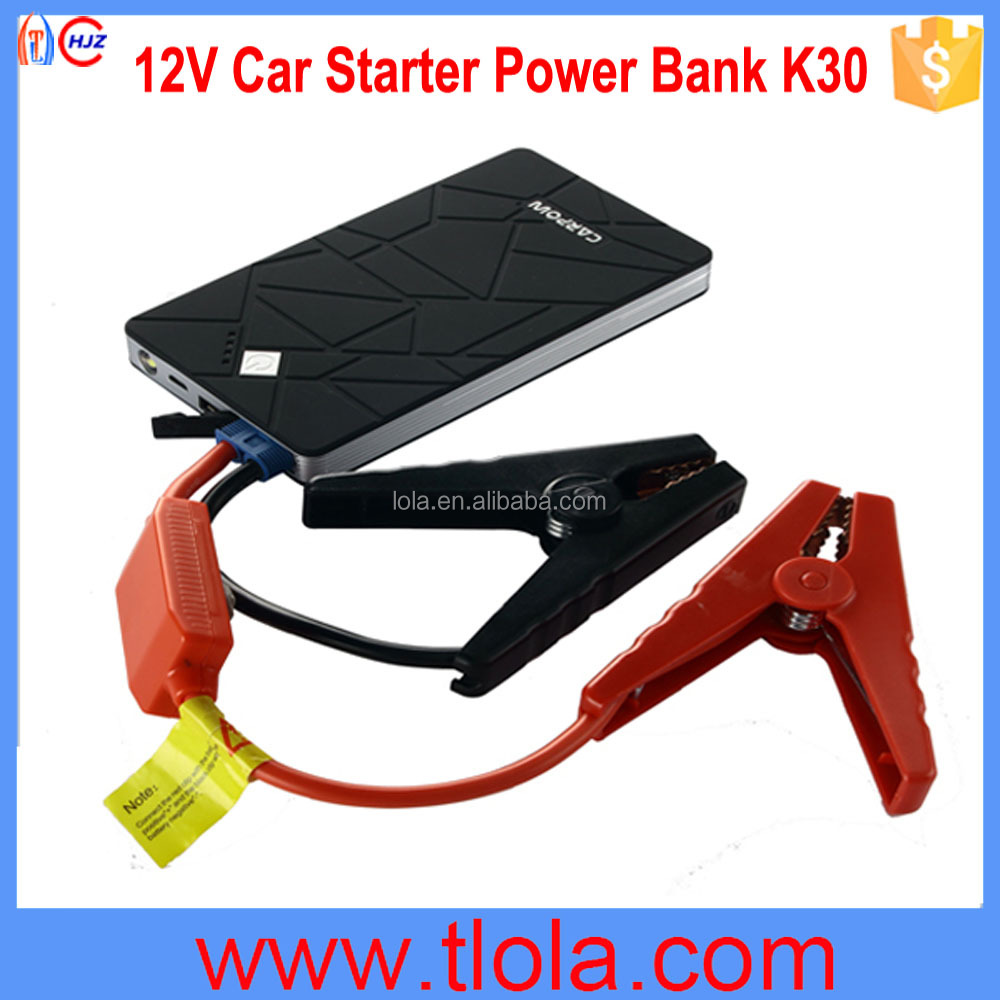 CARPOW K30 25.5WH 6900mAh Capacity for 12V Gasoline Cars/Motorcycles/Yatches Multifunctional Jump Start