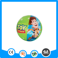 Cartoon printing PVC inflatable beach ball