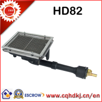 Cheap catalytic gas ceramic heating element for gloves