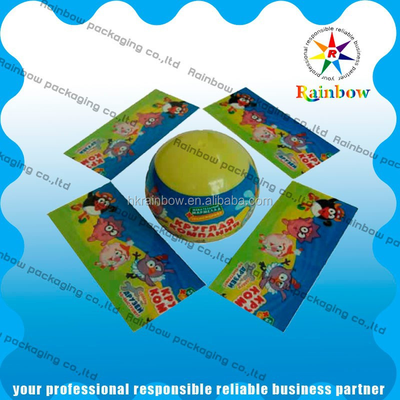 Custom Printed Pvc Shrink Sleeve For Plastic Water Bottle Label Printing