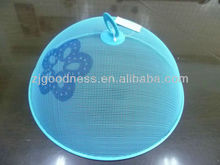 HOT SALE 11-7/8''DIA. DECORATIVE MESH TABLE FOOD COVER W/PRINTING