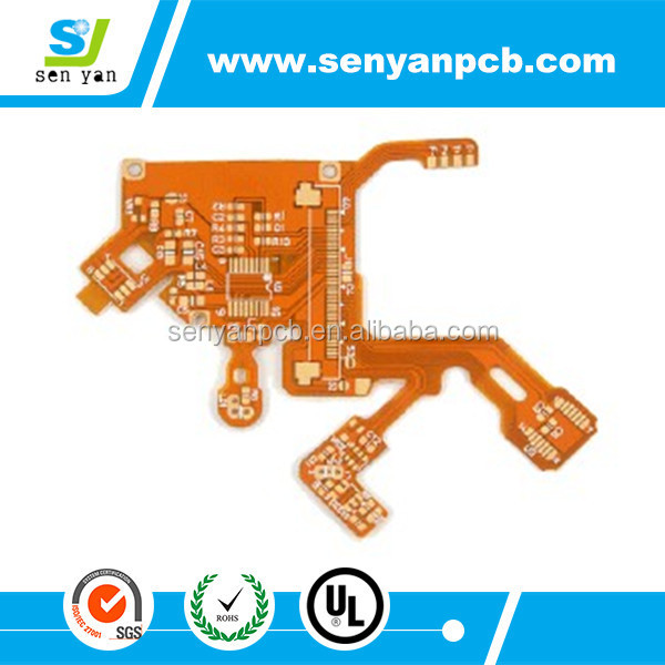 Shenzhen customized Rigid flex pcb/pcba manufacturer /pcb design services with Gerber file