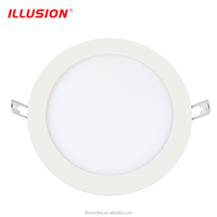 CE EMC Rhos Approved 6w 80lm/w Recessed LED Slim Panel Light