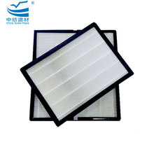 Glass Fiber Hepa Air Filter Pad H10,H11,H13,H14