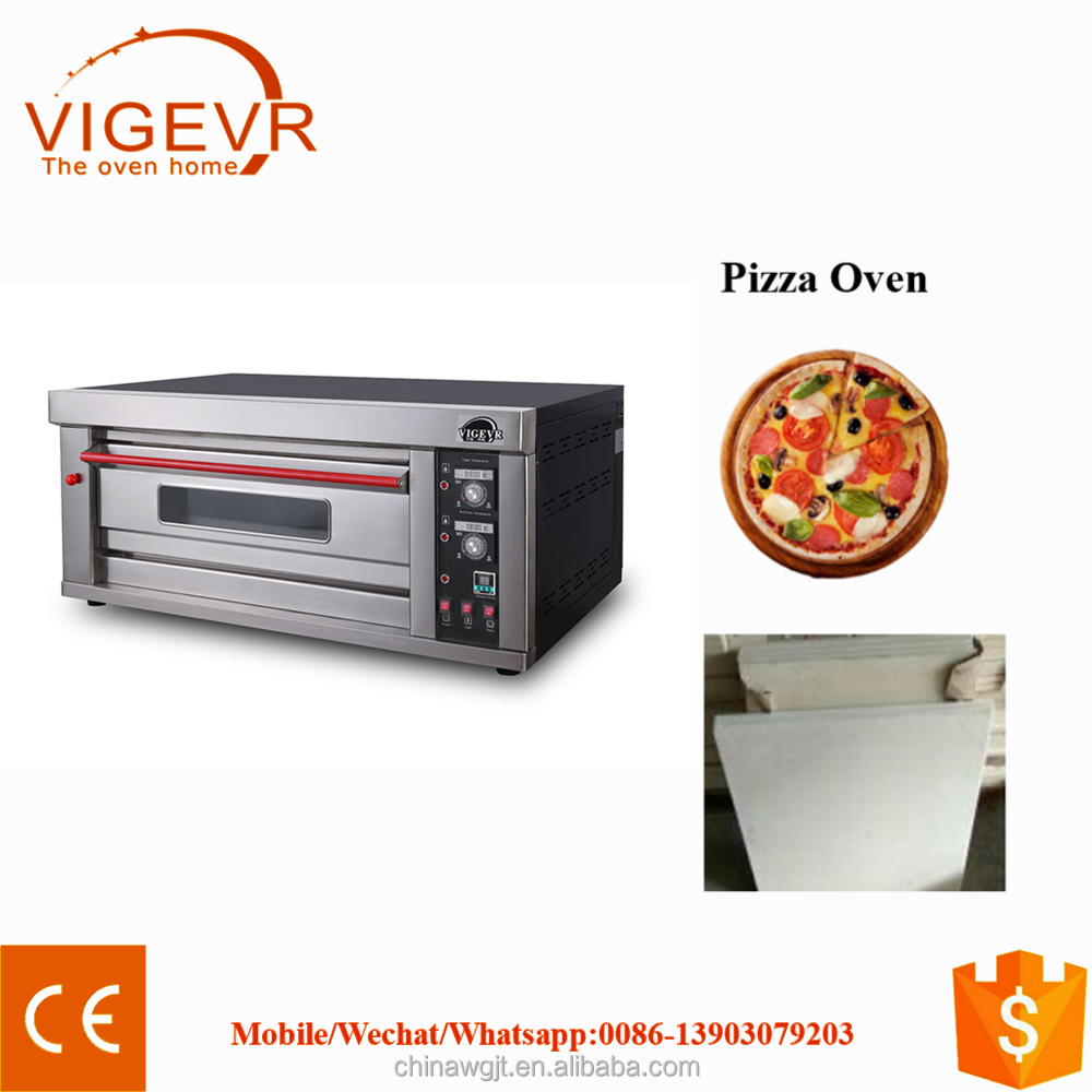 1 LAYER GAS OVEN FOR BAKING CAKES TOAST BREAD Commercial Gas 1 Deck Bread Bakery Ovens For Restaurant -S/S