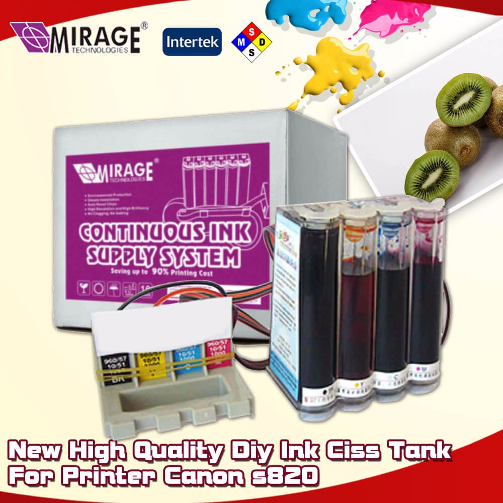 New High Quality Diy Ink Ciss Tank For Printer Canon s820