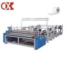 Rewinding Tissue Toilet Kitchen Roll Paper Processing Production Line