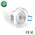 RGBW RGBA RGBY 4in1 1x8W led ceiling downlight 24V with 3 years warranty
