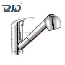2016 Lead Free brass Single Handle Pull down Kitchen Faucet