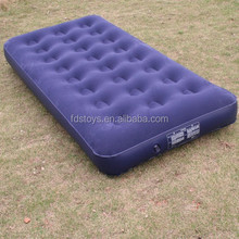 High quality Flocking PVC inflatable bed
