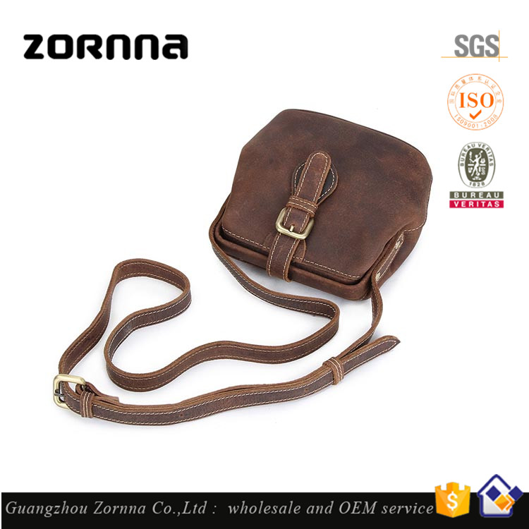 Shop Design High Quality Real Cowhide Famous Brand Leather Crossbody Women Shoulder Coffee Messenger Bag Handbags Wholesale