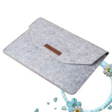 Shockproof magnetic buckle PC felt material cute laptop sleeve